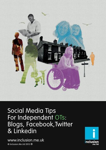 Social Media Tips For Independent OTs Blogs Facebook,Twitter & Linkedin