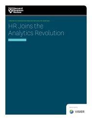HR Joins the Analytics Revolution