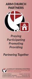 ARM Church Partner Brochure