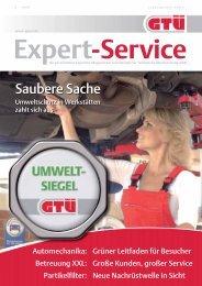 GTÜ Expert-Service 2/2008 (pdf, 2.0 MB