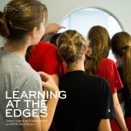 Learning at the Edges