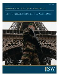 ISIS'S GLOBAL STRATEGY A WARGAME