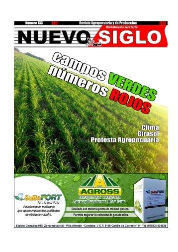 Revista Agropecuaria Nuevo Siglo Número 133