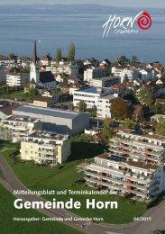 Mitteilungsblatt 04/2011 - in der Gemeinde Horn