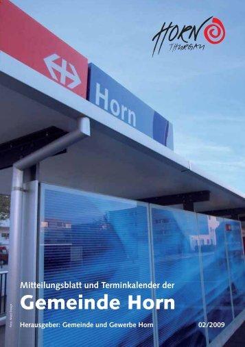 Schnellschte Horner 1000m Läufer - in der Gemeinde Horn