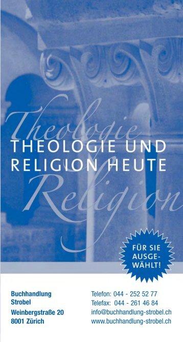 Theologie und Religion heute