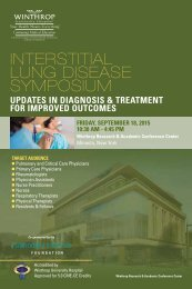 Interstitial Lung Disease Symposium