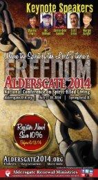 Aldersgate 2014 Brochure