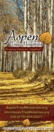 Aspen Tree Ministries Brochure
