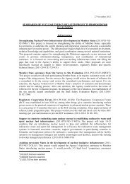 1 SUMMARIES OF NUCLEAR ENERGY RELATED PROJECTS - IAEA