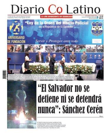 Edición 18 de Agosto de 2015