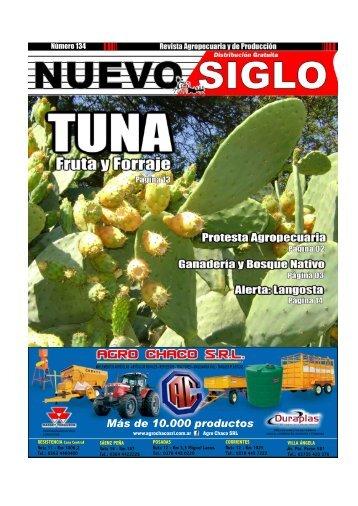 Revista Agropecuaria Nuevo Siglo Número 134