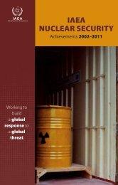 IAEA Nuclear Security - Achievements 2002-2011