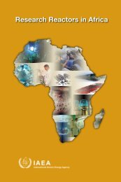Research Reactors in Africa - IAEA