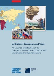 Institutions, Governance and Trade - HWWI
