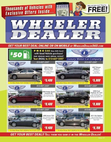 Wheeler Dealer 34-2015