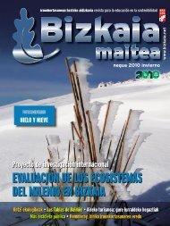Revista invierno 2010 - Bizkaia 21