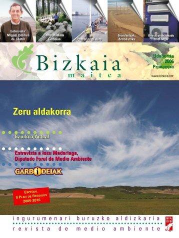 Revista de primavera de 2006 - Bizkaia 21