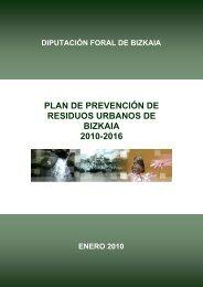 RESIDUOS URBANOS DE BIZKAIA 2010-2016