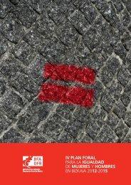 PARA LA IGUALDAD DE MUJERES Y HOMBRES EN BIZKAIA 2012-2015