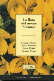 Referencia bibliográfica: La flora del monte Serantes - Bizkaia 21
