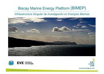 Infraestructura Singular de Investigación en Energías ... - Bizkaia 21