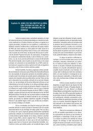 Análisis valorativo global del estado actual de la ... - Bizkaia 21