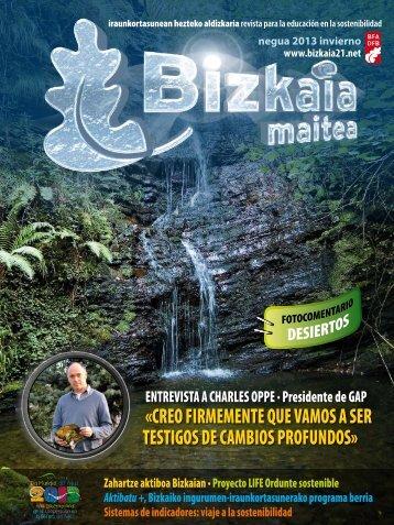 Revista Invierno 2013 - Bizkaia 21