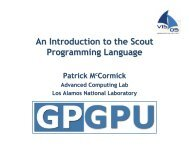 An Introduction to the Scout Programming Language