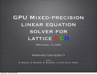 GPU Mixed-precision linear equation solver for lattice QCD