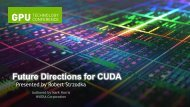Future Directions for CUDA
