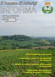 NO all'impianto a biomasse - Comune di Polverigi