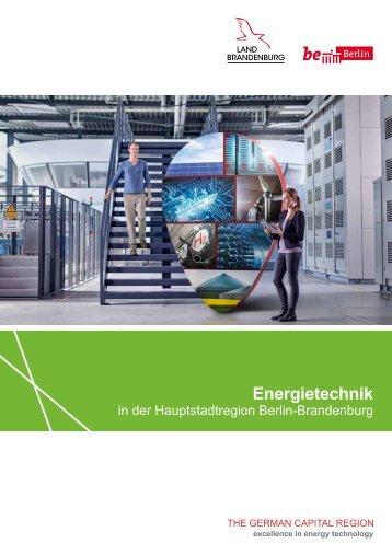 Energietechnik in der Hauptstadtregion Berlin-Brandenburg