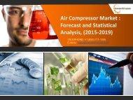 Air Compressor Market: Forecast and Statistical Analysis 2015-2019