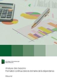 Analyse des besoins Formation continue dans le domaine de la ...