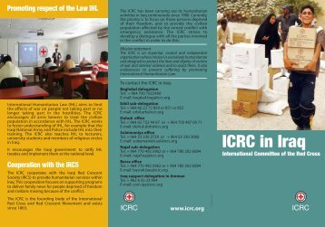 ICRC in Iraq