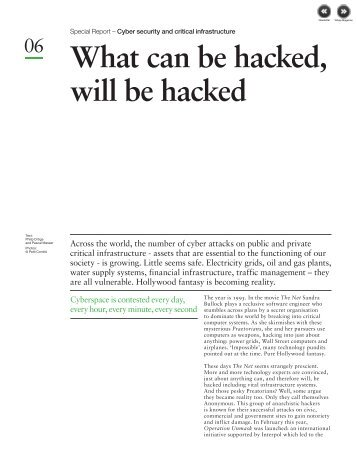 What can be hacked will be hacked