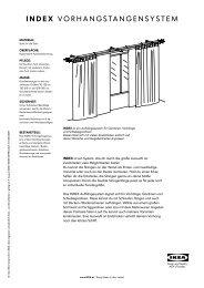 INDEX VORHANGSTANGENSYSTEM - Ikea