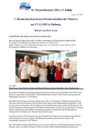 Horst Exner, Hans Schlott, Andrea und Harald Scherer, Kerstin ...