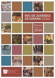 Memoria 2010 - Red de Juderías de España