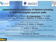 Intersubband spectroscopy of electron tunneling in GaN/AlN coupled quantum wells