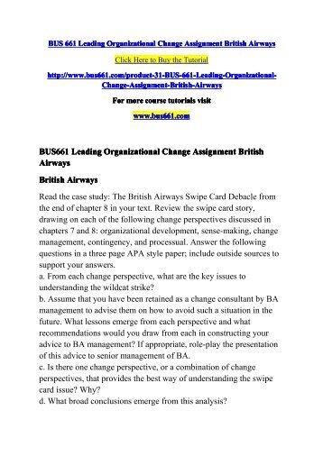 british airways swipe card