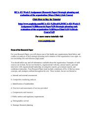 HCA 421 Week 5 Assignment (Research Paper) Strategic planning and evaluation of the organization (Mayo Clinic) (Ash Course)/uophelp