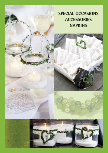 SPECIAL OCCASIONS ACCESSORIES NAPKINS