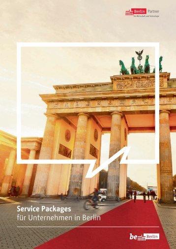 Service Packages für Unternehmen in Berlin