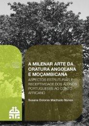 A MILENAR ARTE DA ORATURA ANGOLANA E MOÇAMBICANA