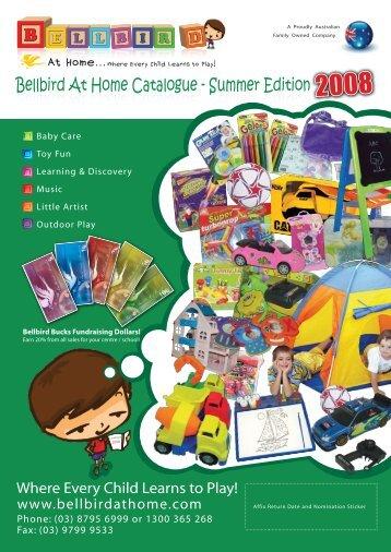 Bellbird At Home Catalogue - Summer Edition