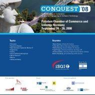 conquest 2008 - iSQI