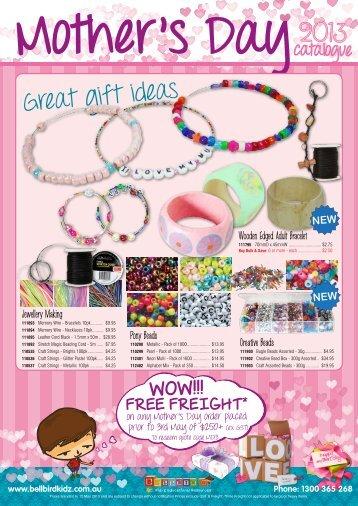 Great gift ideas - Bellbird Kidz