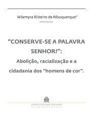 CONSERVE-SE A PALAVRA SENHOR! - Centro de Estudos ...